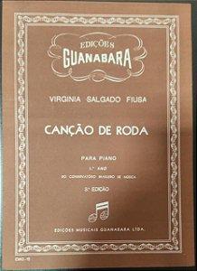 CANÇÃO DE RODA - partitura para piano - Virginia Salgado Fiusa
