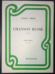 CANÇÃO RUSSA (Chanson Russe) Opus 31 – partitura para piano – Sydney Smith (Musicália)