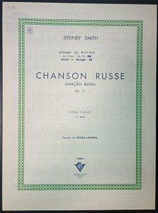 CANÇÃO RUSSA (Chanson Russe) Opus 31 – partitura para piano – Sydney Smith (Vitale)