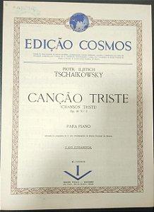 CANÇÃO TRISTE Opus 40 n° 2 – partitura para piano – Tschaikowsky (Vitale)