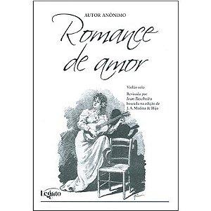 ROMANCE DE AMOR - partitura para violão solo - Autor anônimo - Revisão Ivan Paschoito