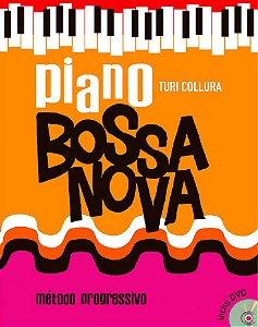 PIANO BOSSA NOVA - Livro/DVD - Turi Collura