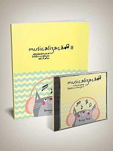 MUSICALIZAÇÃO vol. 2 - Breeze Rosa - Kit Livro e CD