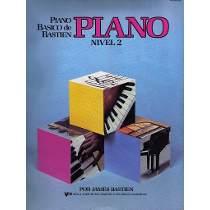 PIANO BÁSICO DE BASTIEN - Nível 2 - PIANO - James Bastien WP202P