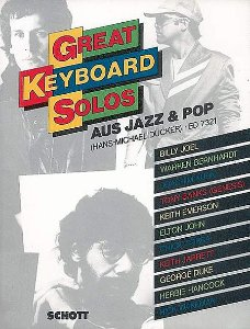 GREAT KEYBOARD SOLOS - AUS JAZZ & POP - Hans - Michael Ducker