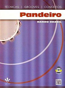 PANDEIRO - TÉCNICAS, GROOVES E CONCEITOS - Nando Brasil