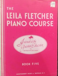 LEILA FLETCHER PIANO COURSE - Book 5