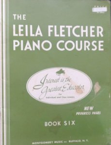 LEILA FLETCHER PIANO COURSE - Book 6