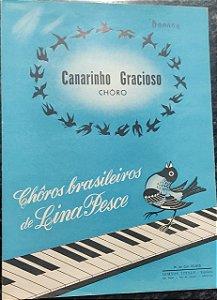 Canarinho Gracioso - partitura para piano - Lina Pesce