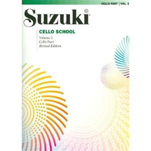 SUZUKI CELLO SCHOOL - Vol. 3 - Cello Part - Revised Edition