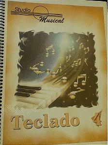 TECLADO VOL. 4 - STUDIO MUSICAL - Miriam Nagata Kawanashi / Luiz Fernando Fajardo de Andrade Lima