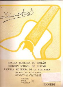 ESCOLA MODERNA DO VIOLÃO - Vol. 1 - Técnica do mecanismo - Isaias Savio