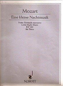 MOZART - EINE KLEINE NACHTMUSIK - KV 525 (PEQUENA SERENATA NOTURNA) - Mozart