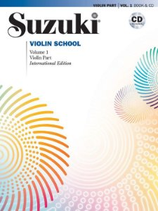 SUZUKI Violin School  - vol 1 International Edition com CD