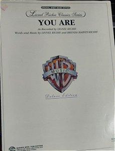 YOU ARE - partitura para piano e cifras para violão - Lionel Richie e Brenda Harvey-Richie