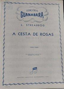 A CESTA DE ROSAS - partitura para piano - L. Streabbog