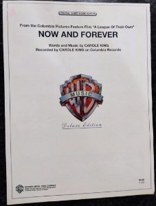 NOW AND FOREVER - partitura para piano - Carlo King (Tema do filme A League of their own)