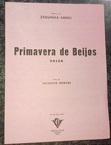 PRIMAVERA DE BEIJOS - partitura para piano - Zequinha Abreu e Salvador Moraes