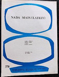 NADA MAIS (LATELY) - partitura para piano - Stevie Wonder (versão gravação Gal Costa)