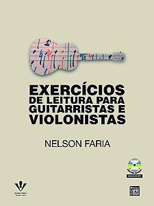 EXERCÍCIOS DE LEITURA PARA GUITARRISTAS E VIOLONISTAS - Nelson Faria