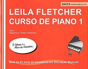 LEILA FLETCHER CURSO DE PIANO Vol. 1 Livro + Áudio Online - Nova Edição em Português