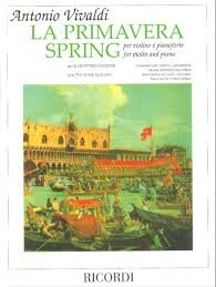 SPRING / PRIMAVERA - PARA VIOLINO E PIANO (PARTE DAS 4 ESTAÇÕES) - Vivaldi