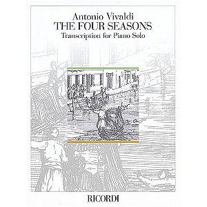 THE FOUR SEASONS / AS 4 ESTAÇÕES - PIANO SOLO - Antonio Vivaldi