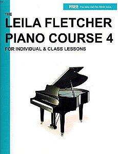 LEILA FLETCHER PIANO COURSE - Vol. 4 - Livro + Áudio Online