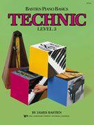 BASTIEN PIANO BASICS - TECHNIC - LEVEL 3 - James Bastien (WP218)