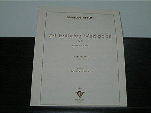GURLITT - 24 Estudos Melódicos para piano Opus 50 - 1° Volume