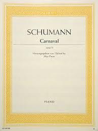 SCHUMANN - CARNAVAL OPUS 9 - Schumann