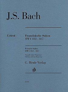 BACH - Suítes Francesas (FRANZOSISCHE SUITEN) - BWV 812 - 817 - Edição SEM Digitação