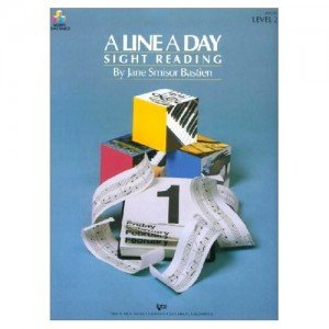 A LINE A DAY - SIGHT READING - LEVEL 2 - Jane Bastien