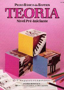 PIANO BÁSICO DE BASTIEN - Nível Pré-Iniciante - TEORIA - James Bastien WP205P