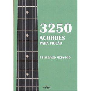 3250 ACORDES PARA VIOLÃO - Fernando Azevedo
