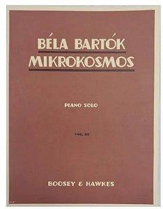 BELA BARTOK - MIKROKOSMOS - VOL 3