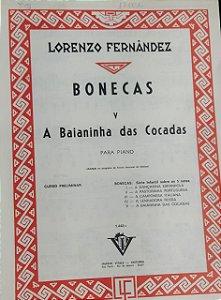 A BAIANINHA DAS COCADAS - partitura para piano - Lorenzo Fernandez