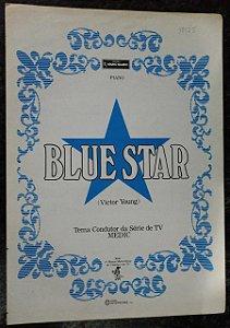 PARTITURA PARA PIANO: BLUE STAR (série de TV MEDIC) - Victor Young