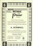NOVO MÉTODO PARA PIANO - 1ª PARTE - A. Schmoll