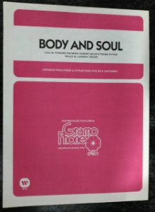 PARTITURA PARA PIANO: BODY AND SOUL - Johnny Grenn