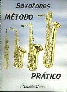 MÉTODO PRÁTICO PARA SAXOFONE - Almeida Dias