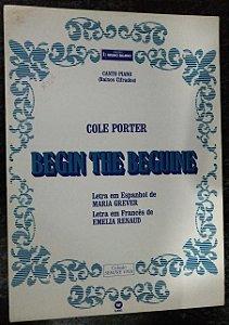 PARTITURA PARA PIANO: BEGIN THE BEGUINE - Cole Porter