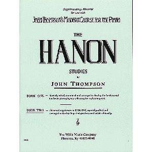 HANON STUDIES - BOOK 2 - By John Thompson