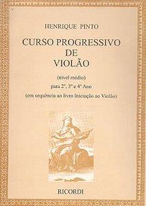 CURSO PROGRESSIVO DE VIOLÃO - Henrique Pinto