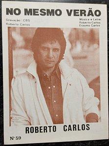 NO MESMO VERÃO - partitura para piano solo - Roberto Carlos e Erasmo Carlos