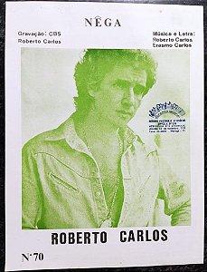 NÊGA - partitura para piano - Roberto Carlos e Erasmo Carlos