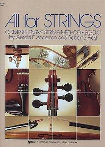 ALL FOR STRINGS BOOK 01 - Violino