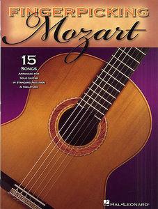 FINGERPICKING MOZART -  15 músicas para violão solo (tablatura e partitura)