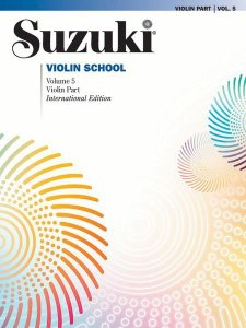 SUZUKI VIOLIN SCHOOL - Vol. 5 - Violin Part - International Edition