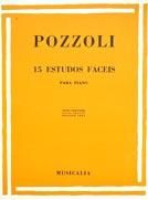 POZZOLI – 15 ESTUDOS FÁCEIS PARA PIANO – para as mãos pequenas